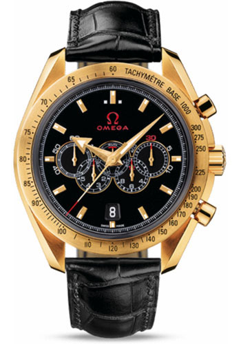 Omega Watches - Speedmaster Olympic Collection Timeless 44.25 mm Yellow Gold - Style No: 321.53.44.52.01.002
