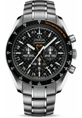 Omega Watches - Speedmaster HB-SIA Co-Axial GMT Chronograph - Style No: 321.90.44.52.01.001