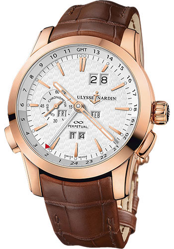 Ulysse Nardin Watches - Perpetual Manufacture - Style No: 322-10