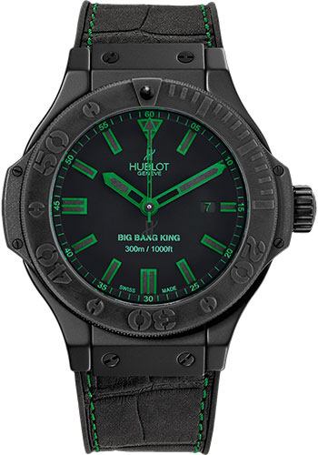 Hublot Watches - Big Bang King 48mm All Black Green - Style No: 322.CI.1190.GR.ABG11
