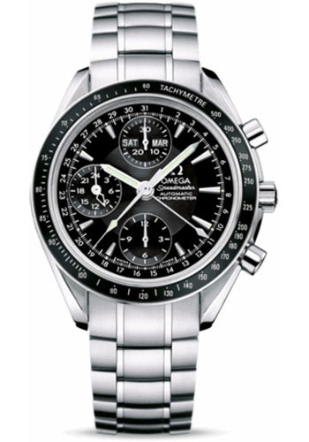 Omega Watches - Speedmaster Day-Date Stainless Steel - Style No: 3220.50.00