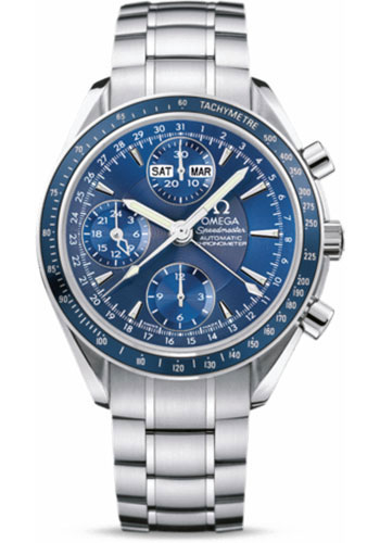 Omega Watches - Speedmaster Day-Date Stainless Steel - Style No: 3222.80.00