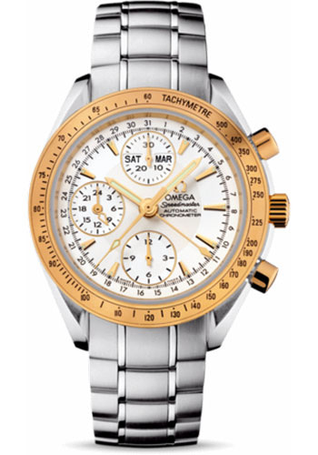 Omega Watches - Speedmaster Day-Date Steel And Yellow Gold - Style No: 323.21.40.44.02.001