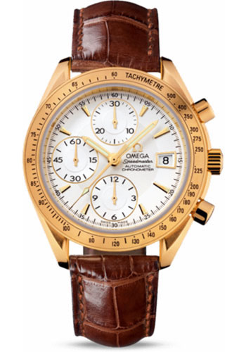 Omega Watches - Speedmaster Date Yellow Gold - Style No: 323.53.40.40.02.001