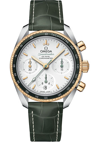 Omega Watches - Speedmaster Chronograph 38 mm - Steel And Yellow Gold - Style No: 324.23.38.50.02.001
