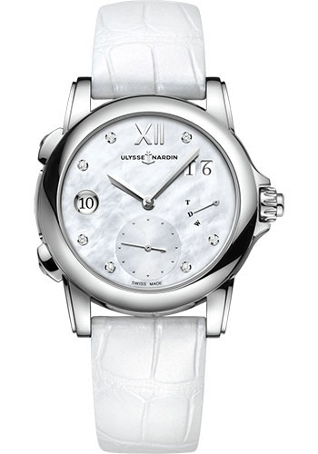 Ulysse Nardin Watches - Classico Lady Dual Time - Style No: 3243-222/390