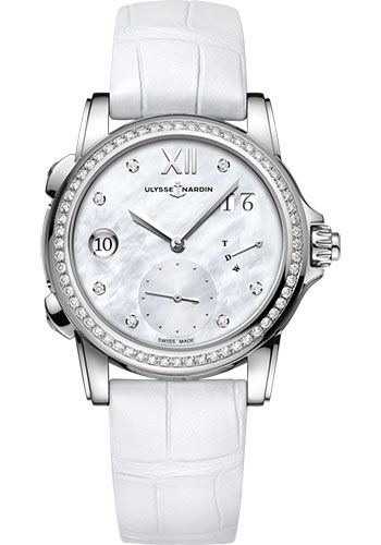 Ulysse Nardin Watches - Classico Lady Dual Time - Style No: 3243-222B/390