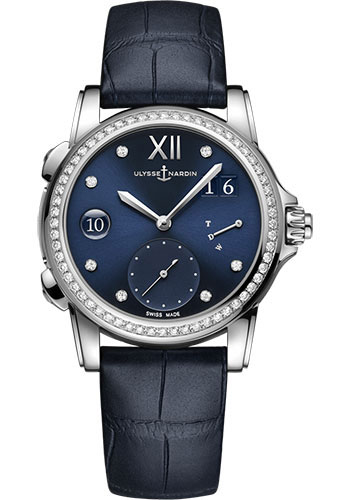 Ulysse Nardin Watches - Classico Lady Dual Time - Style No: 3243-222B/393