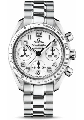 Omega Watches - Speedmaster Chronograph 38 mm - Stainless Steel - Style No: 324.30.38.40.04.001