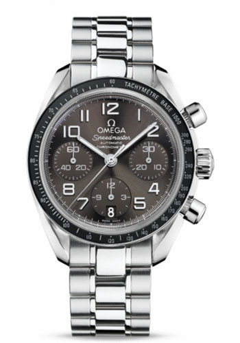 Omega Watches - Speedmaster Chronograph 38 mm - Stainless Steel - Style No: 324.30.38.40.06.001