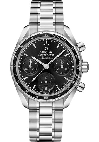 Omega Watches - Speedmaster Chronograph 38 mm - Stainless Steel - Style No: 324.30.38.50.01.001