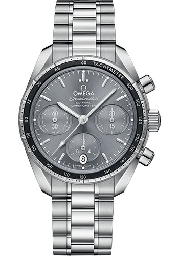 Omega Watches - Speedmaster Chronograph 38 mm - Stainless Steel - Style No: 324.30.38.50.06.001