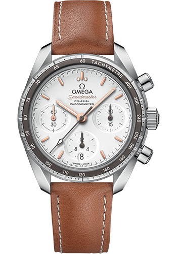 Omega Watches - Speedmaster Chronograph 38 mm - Stainless Steel - Style No: 324.32.38.50.02.001