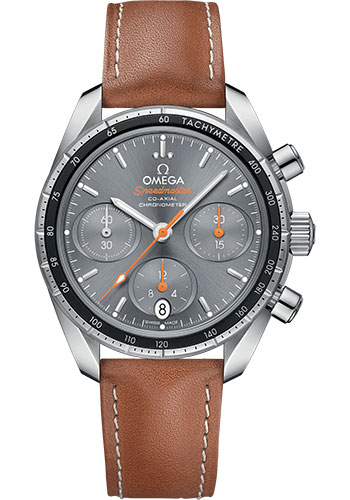 Omega Watches - Speedmaster Chronograph 38 mm - Stainless Steel - Style No: 324.32.38.50.06.001