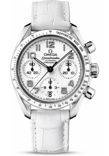 Omega Watches - Speedmaster Chronograph 38 mm - Stainless Steel - Style No: 324.33.38.40.04.001
