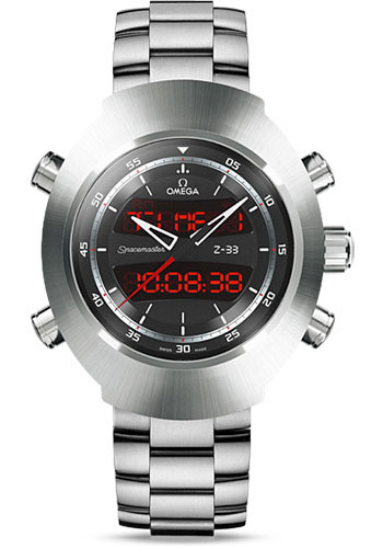Omega Watches - Speedmaster Spacemaster Z-33 Chronograph Titanium - Style No: 325.90.43.79.01.001