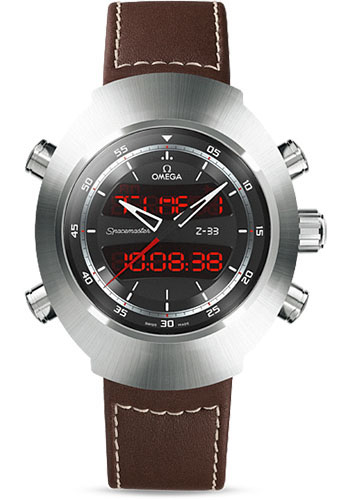 Omega Watches - Speedmaster Spacemaster Z-33 Chronograph Titanium - Style No: 325.92.43.79.01.002