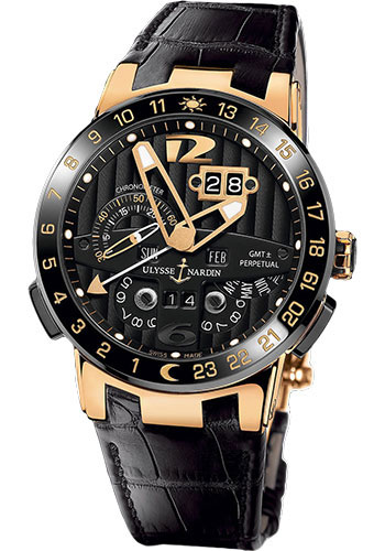 Ulysse Nardin Watches - Executive El Toro Rose Gold - Style No: 326-03