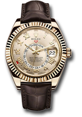 Rolex Watches - Sky-Dweller Yellow Gold - Style No: 326138