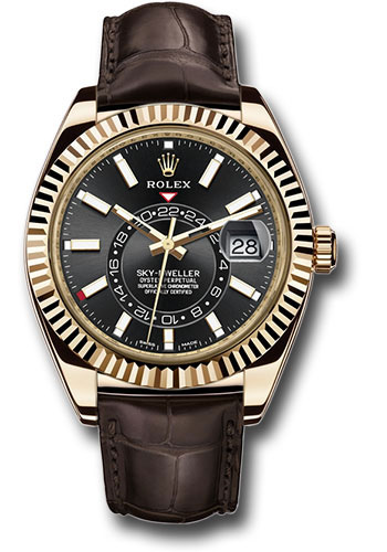 Rolex Watches - Sky-Dweller Yellow Gold - Style No: 326138 bk