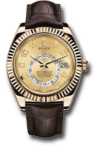 Rolex Watches - Sky-Dweller Yellow Gold - Style No: 326138 ch