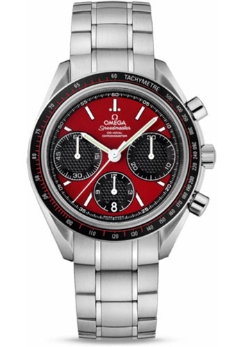 Omega Watches - Speedmaster Racing Co-Axial Chronograph 40 mm - Stainless Steel - Style No: 326.30.40.50.11.001