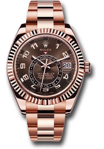 Ladies rose gold watch