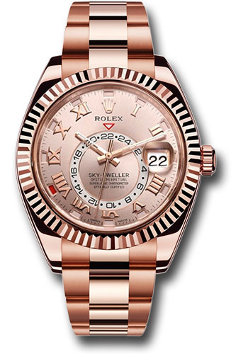 Rolex Watches - Sky-Dweller Everose Gold - Style No: 326935 su