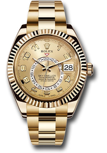 Rolex Watches - Sky-Dweller Yellow Gold - Style No: 326938 ch