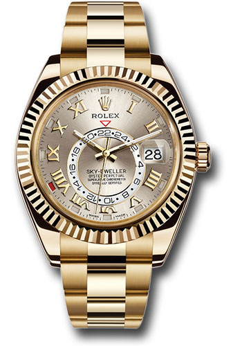 Rolex Watches - Sky-Dweller Yellow Gold - Style No: 326938 s