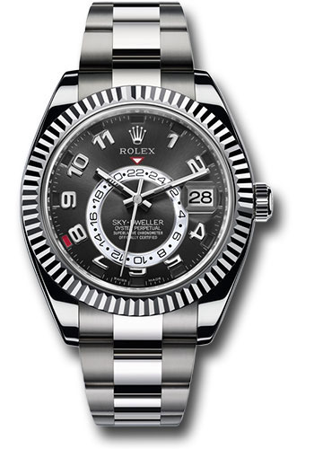 Rolex Watches - Sky-Dweller White Gold - Style No: 326939 bk