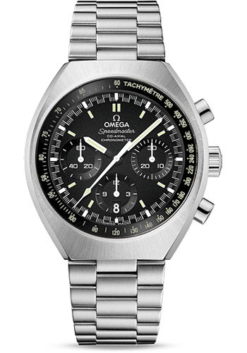 Omega Watches - Speedmaster Mark II Co-Axial Chronograph 42.4 x 46.2 mm - Style No: 327.10.43.50.01.001