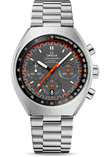 Omega Watches - Speedmaster Mark II Co-Axial Chronograph 42.4 x 46.2 mm - Style No: 327.10.43.50.06.001