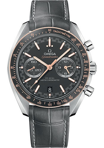 Omega Watches - Speedmaster Racing Co-Axial Chronograph 44.25 mm - Steel and Sedna Gold - Style No: 329.23.44.51.06.001