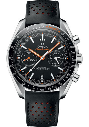 Omega Watches - Speedmaster Racing Co-Axial Chronograph 44.25 mm - Stainless Steel - Leather Strap - Style No: 329.32.44.51.01.001