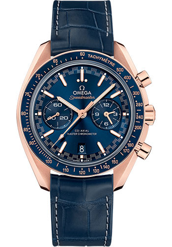 Omega Watches - Speedmaster Racing Co-Axial Chronograph 44.25 mm - Sedna Gold - Style No: 329.53.44.51.03.001