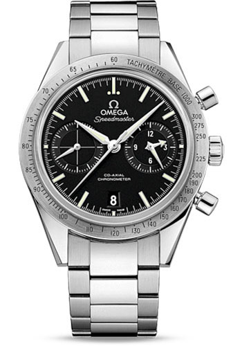 Omega Watches - Speedmaster 57 Omega Co-Axial Chronograph 41.5 mm - Stainless Steel - Style No: 331.10.42.51.01.001