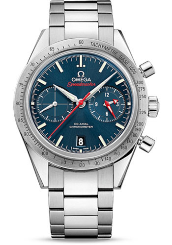 Omega Watches - Speedmaster 57 Omega Co-Axial Chronograph 41.5 mm - Stainless Steel - Style No: 331.10.42.51.03.001