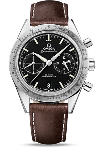 Omega Watches - Speedmaster 57 Omega Co-Axial Chronograph 41.5 mm - Stainless Steel - Style No: 331.12.42.51.01.001