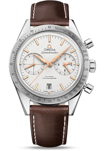 Omega Watches - Speedmaster 57 Omega Co-Axial Chronograph 41.5 mm - Stainless Steel - Style No: 331.12.42.51.02.002
