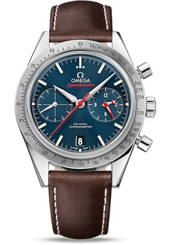 Omega Watches - Speedmaster 57 Omega Co-Axial Chronograph 41.5 mm - Stainless Steel - Style No: 331.12.42.51.03.001