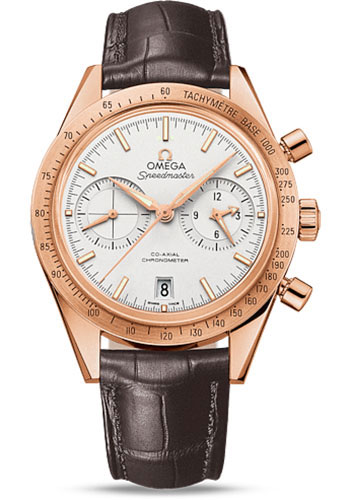 Omega Watches - Speedmaster 57 Omega Co-Axial Chronograph 41.5 mm - Red Gold - Style No: 331.53.42.51.02.002