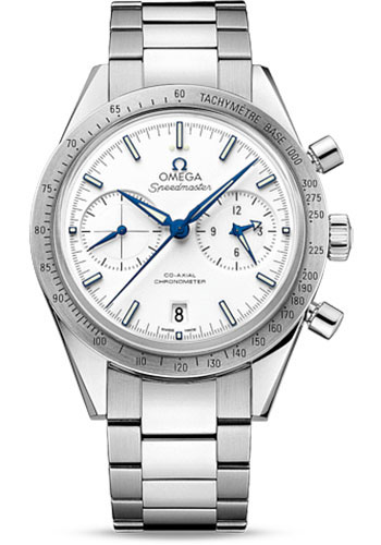 Omega Watches - Speedmaster 57 Omega Co-Axial Chronograph 41.5 mm - Titanium - Style No: 331.90.42.51.04.001