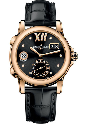 Ulysse Nardin Watches - Classico Dual Time Lady - Style No: 3346-222/30-02