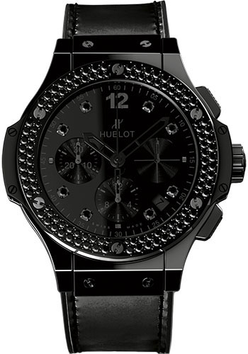Hublot Watches - Big Bang 41mm Black Ceramic - Style No: 341.CX.1210.VR.1100