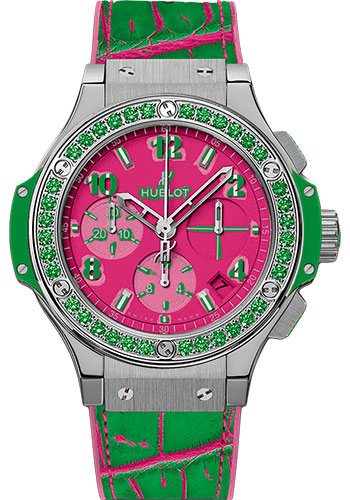 Hublot Watches - Big Bang 41mm Pop Art - Stainless Steel - Style No: 341.SG.7379.LR.1222.POP15