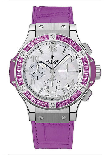 Hublot Watches - Big Bang 41mm Tutti Frutti Stainless Steel - Style No: 341.SV.6010.LR.1905