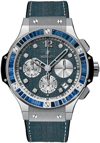Hublot Watches - Big Bang 41mm Jeans - Style No: 341.SX.2710.NR.1901.JEANS