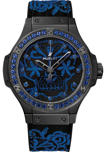 Hublot Watches - Big Bang 41mm Broderie - Style No: 343.CL.6590.NR.1201