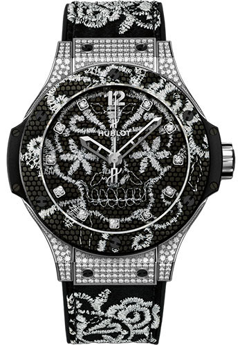 Hublot Watches - Big Bang 41mm Broderie - Style No: 343.SX.6570.NR.0804